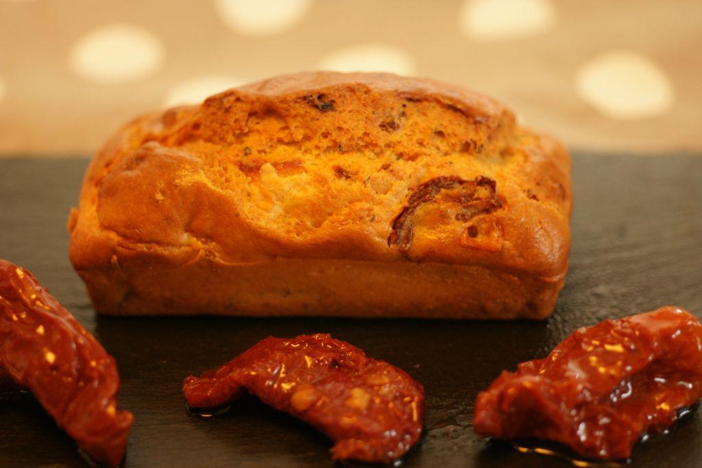 Cake Aux Ch Ef Bf Bdvre Et Tomates S Ef Bf Bdch Ef Bf Bdes