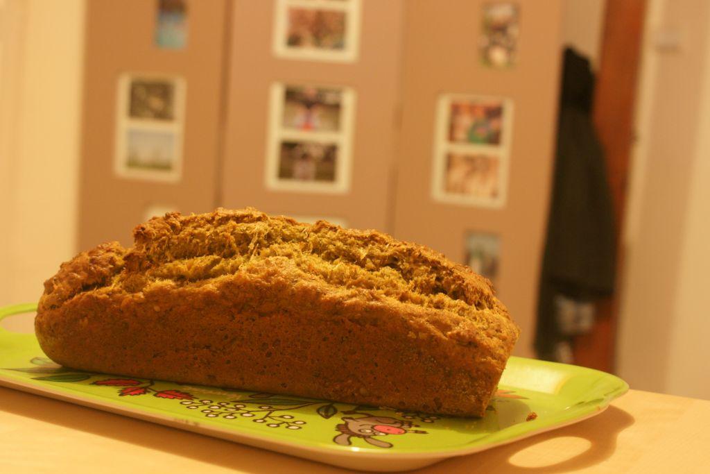 Cake pesto pignons de pin