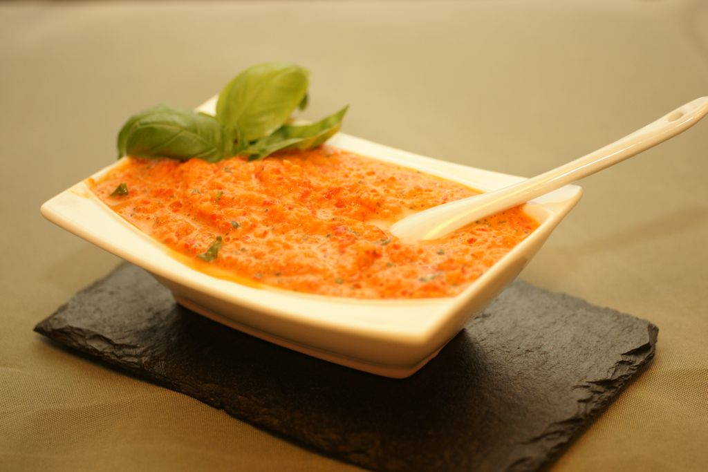 Crème de poivrons 2