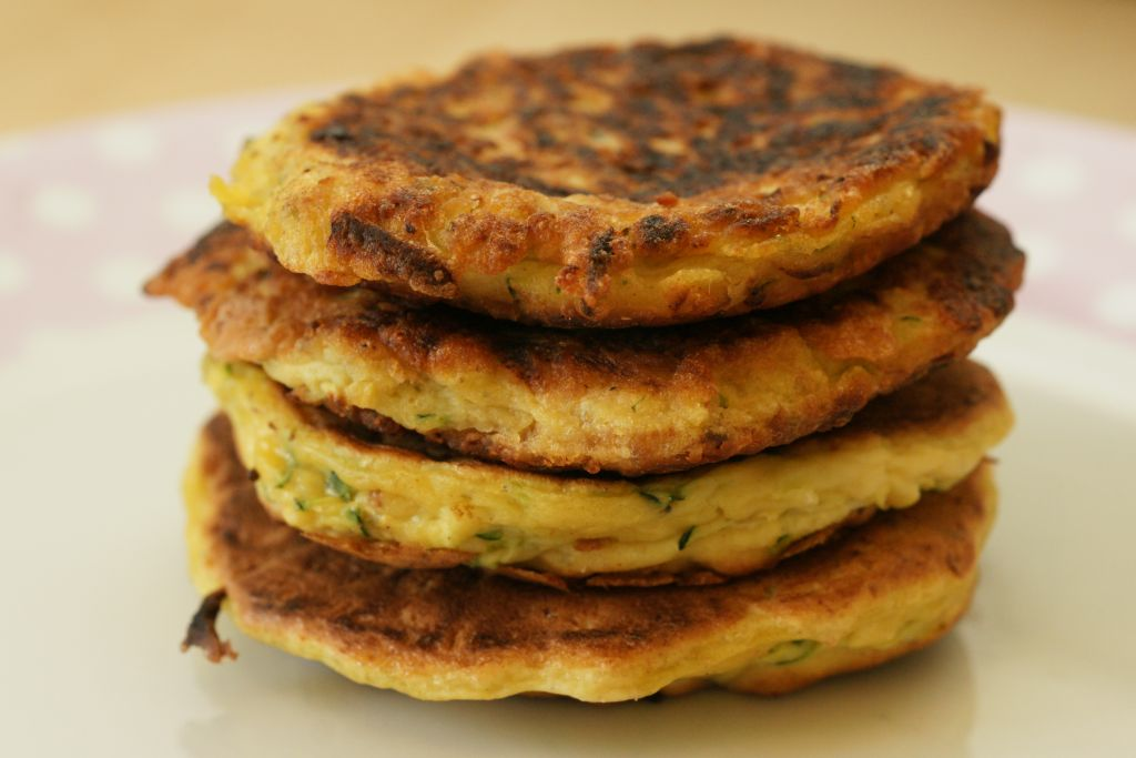 Galette courgette 2