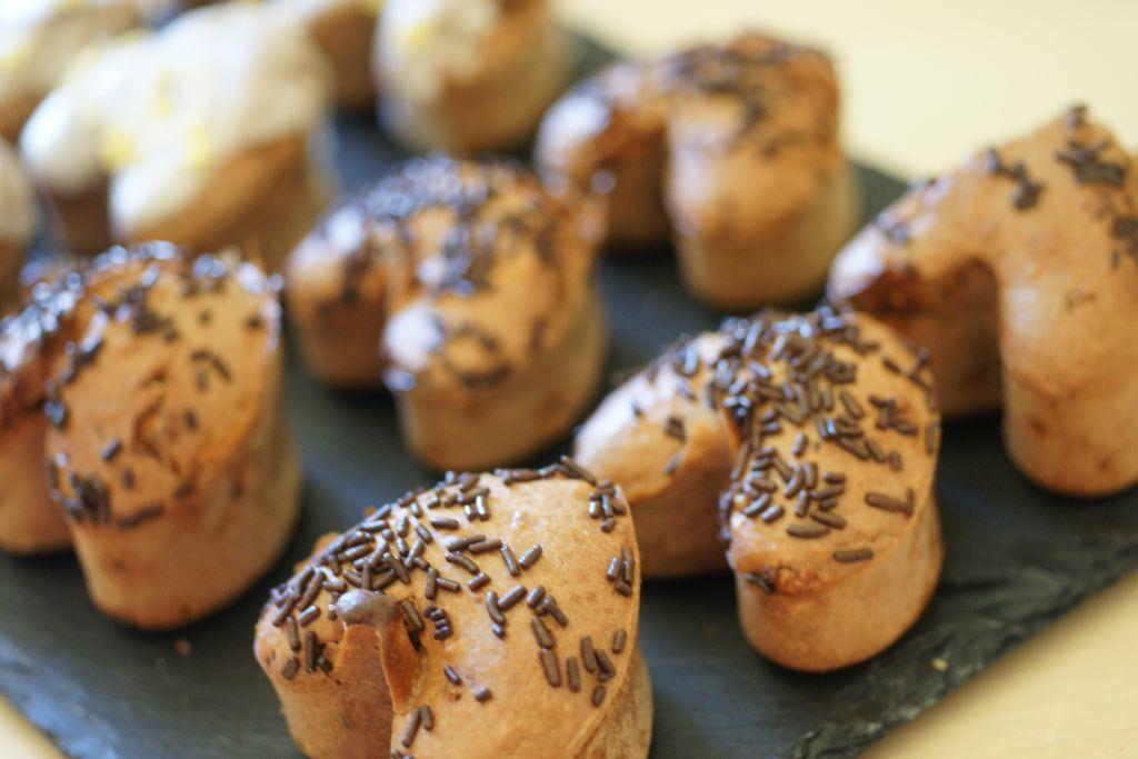 Muffins coco Nutella 3