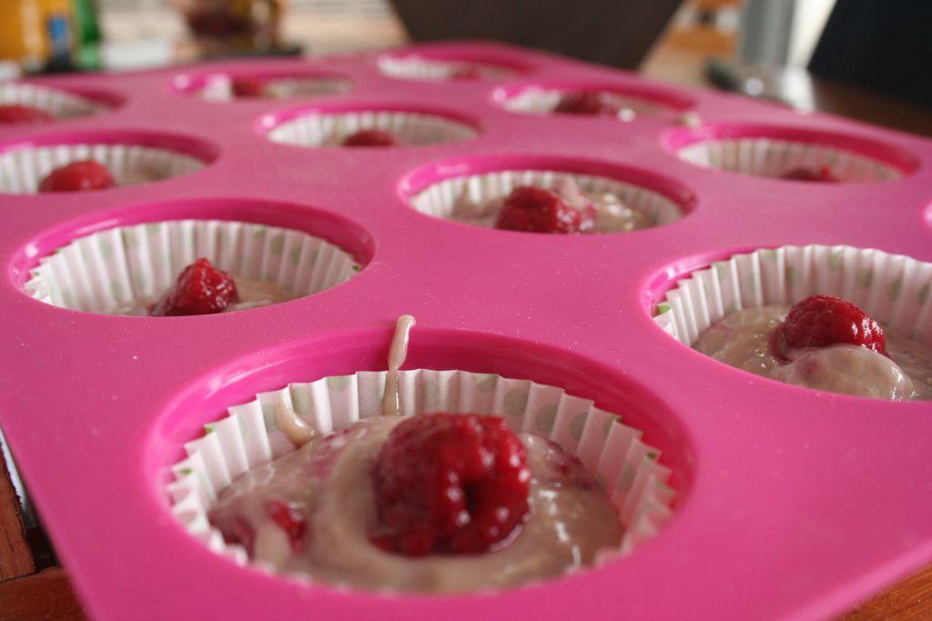 Muffins Framboise Yaourt