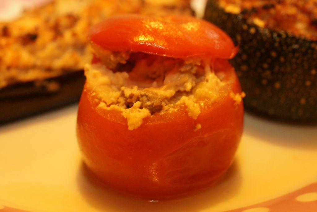 Petits farcis tomate