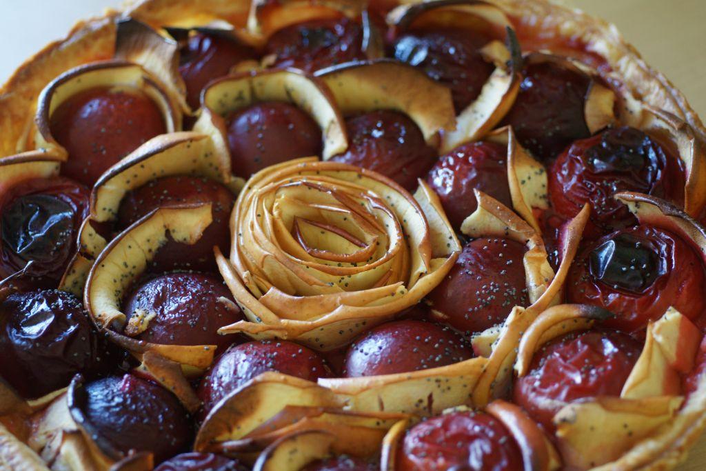 Tarte pomme prune 2