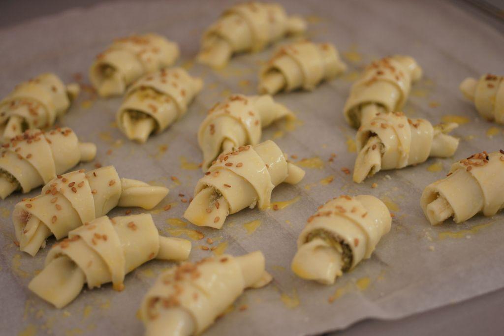 Croissants pesto 2