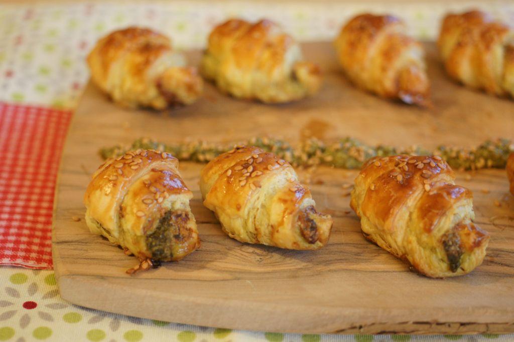 Croissants pesto 4
