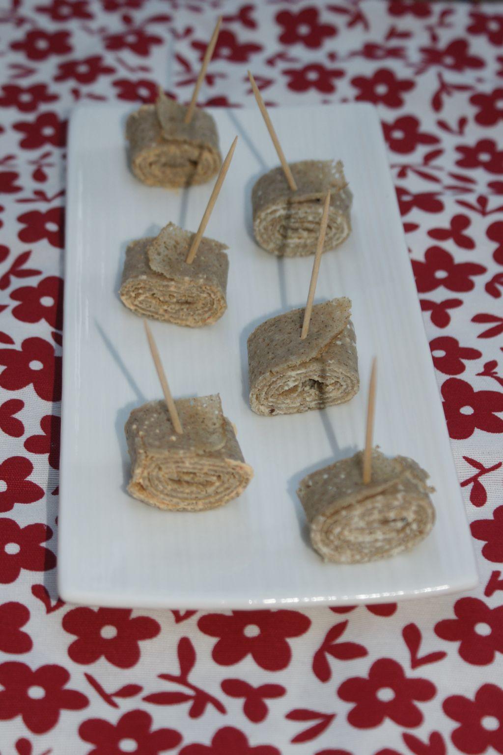 Galettes roulées fromage frais 3