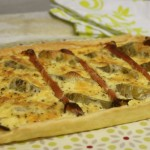 Tarte artichauts jambon cru 2