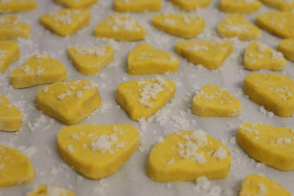 Sablés farine de maïs épices