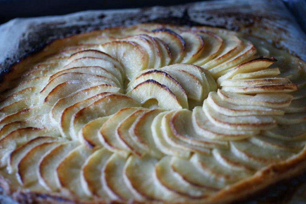 Tarte fine aux pommes 2