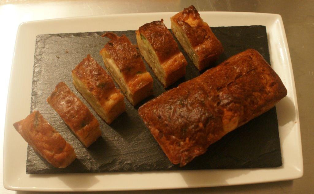 Cake Courgette Poivron Thon